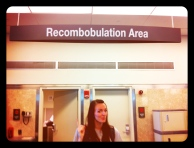 You'll never be discombobulated at Milwaukee's airport...