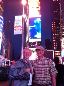 Mom and Dad's first trip to the Big Apple.