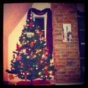 My little tree in the corner.