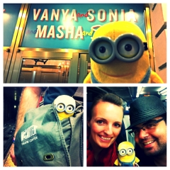 Minion in the city